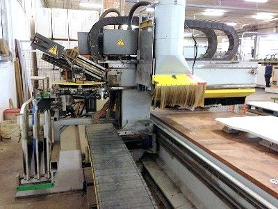 CNC Working Center HOMAG OPTIMAT BAZ 32